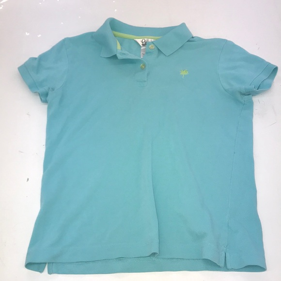 Lilly Pulitzer Tops - Lilly Pulitzer Blue Polo Size Women's Small